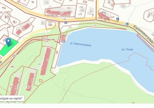 Возле озера в Светлогорске разрешили построить пятиэтажный дом